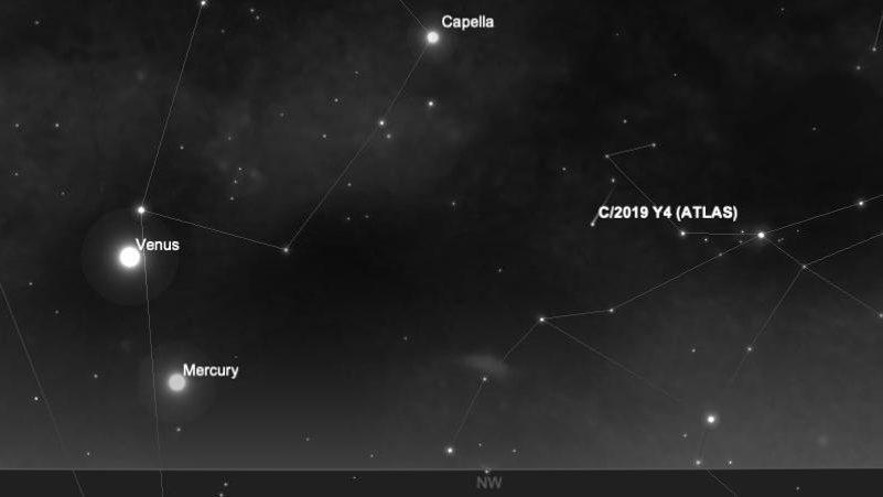 Atlas: la cometa sempre più vicina al nostro pianeta