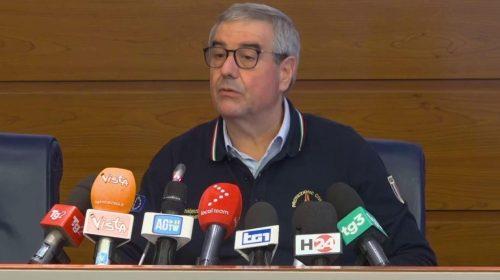 """Coronavirus, Borrelli: """"Dovremo restare a casa anche il 1 maggio"""""""
