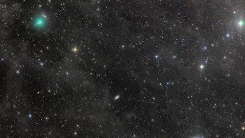 Spazio: la cometa Atlas si sta disintegrando? Registrato improvviso calo di luminosità