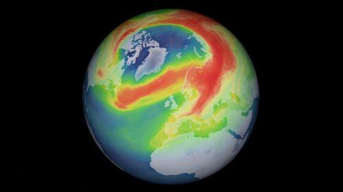 Polo Nord: si richiude il più grande buco dell'ozono artico