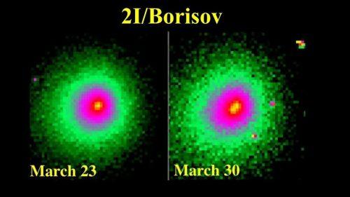 Spazio: l'oggetto interstellare 2I/Borisov si è frammentate