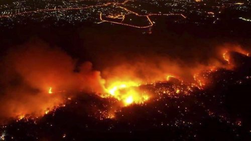 Thailandia: incendi senza precedenti nel nord del paese