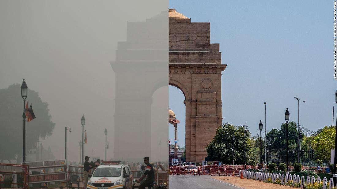Scompare lo smog a Nuova Delhi: il cielo torna limpido sulla capitale indiana