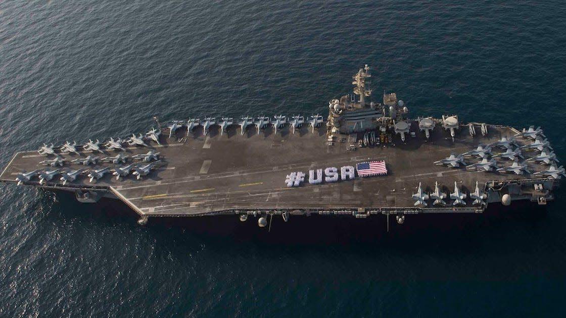 USA: oltre 900 contagi a bordo della Navy Theodore Roosevelt