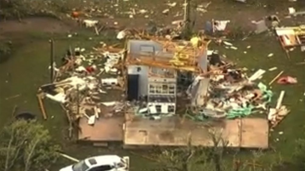 USA: ancora tornado in Texas e Louisiana. Danni e feriti