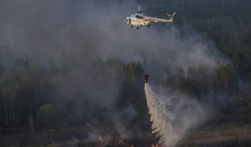 Chernobyl, spaventoso incendio: in fiamme la foresta radioattiva intorno alla centrale