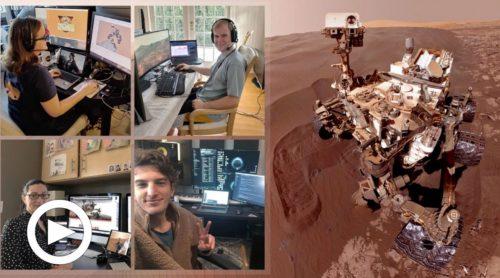 Coronavirus, Marte: la Nasa gestisce il rover Curiosity da casa