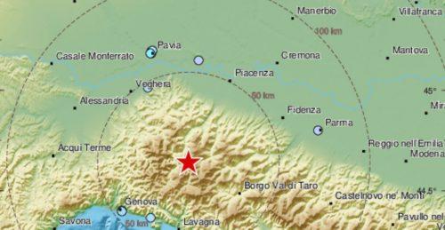 Forte terremoto di magnitudo 4.2 Richter: paura e gente in strada