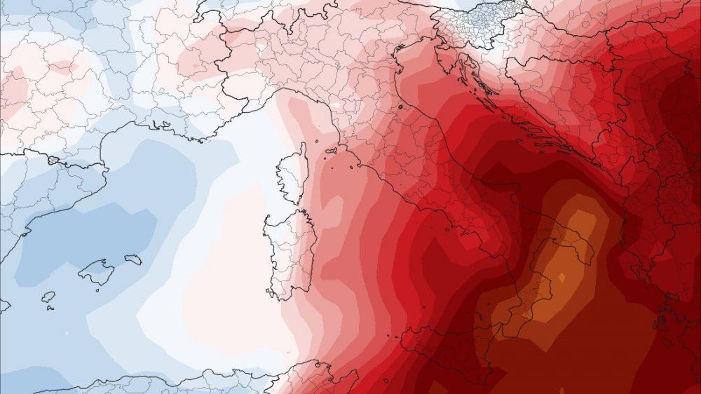 Caldo record al Sud Italia: a Palermo allarme incendi