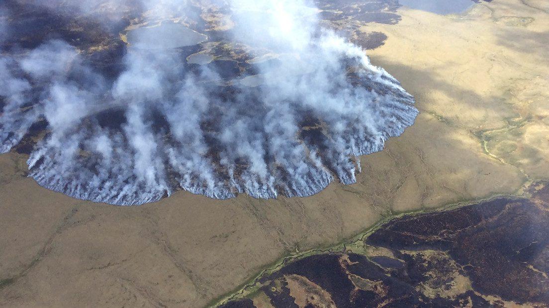 Ambiente: gli incendi 'zombi' minacciano l'Artico