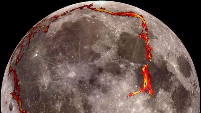 Spazio: la Luna mostra segni di attività geologica