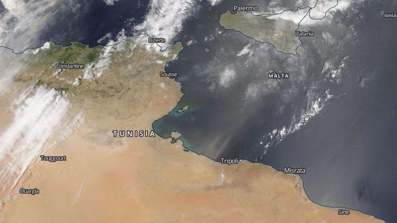 Continua la risalita della sabbia sahariana dall'Africa