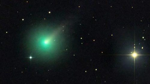 SWAN C/2020 F8: in arrivo la cometa del cigno nero