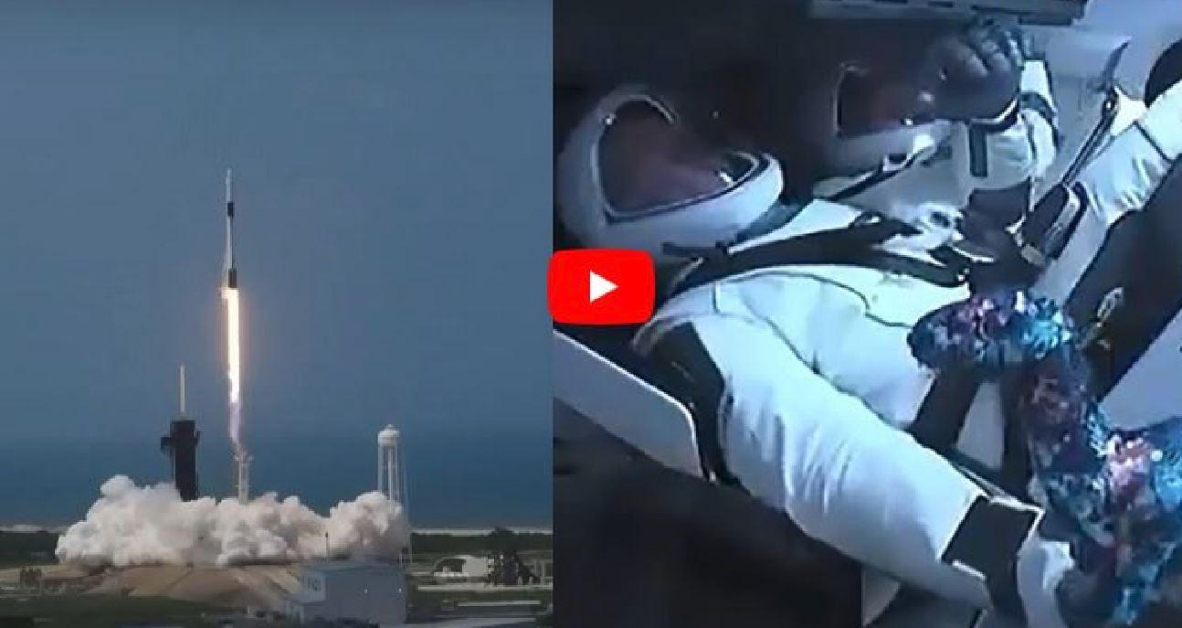 SpaceX, storico lancio della Crew Dragon dagli Usa: oggi i 2 astronauti raggiungono la Iss