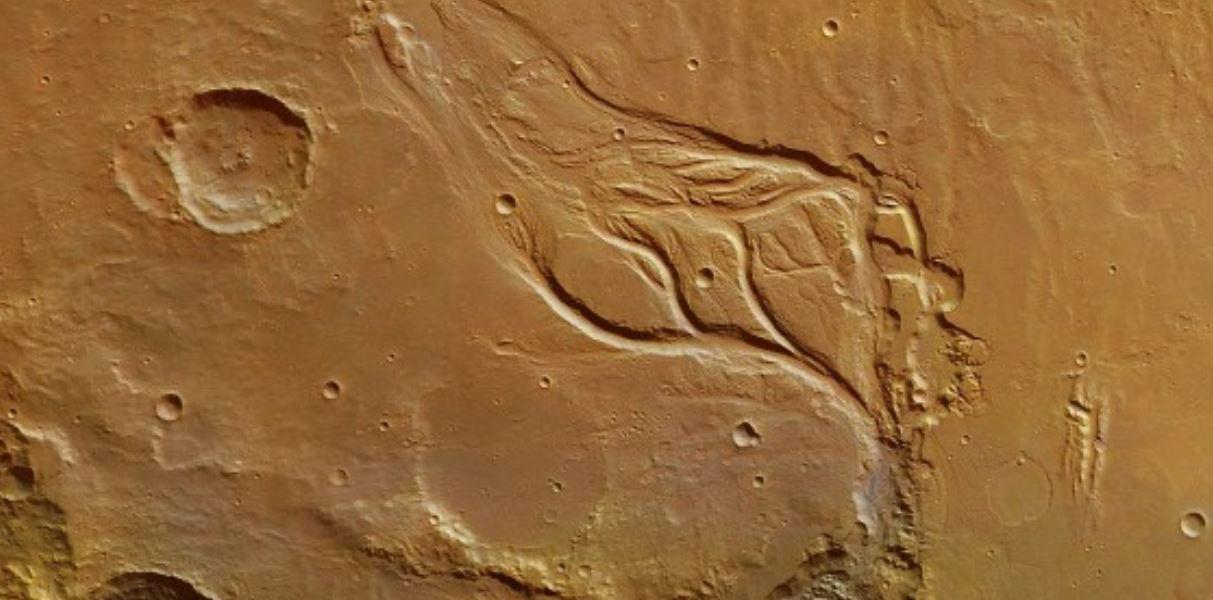 Scoperto il mistero dei canali su Marte, non sono stati formati da antiche colate laviche