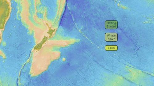 """Nuova Zelanda: pubblicate le mappe del 'Settimo Continente"""""""
