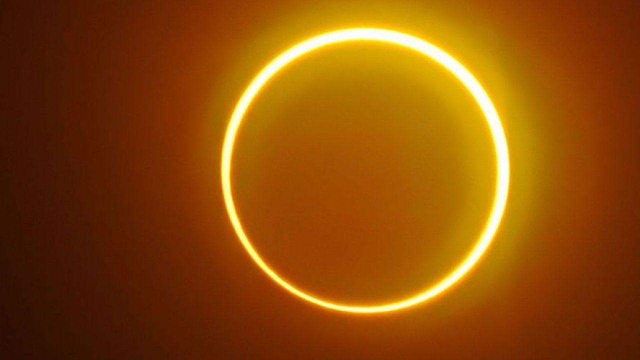 Eclissi solare anulare: l'appuntamento è per domani
