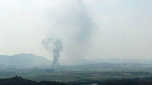 Missile della Corea del Nord distrugge 'ufficio del dialogo intercoreano'. Il video