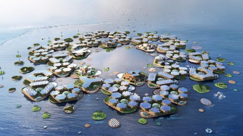 Coronavirus: l'elitè pensano di trasferirsi in città galleggianti