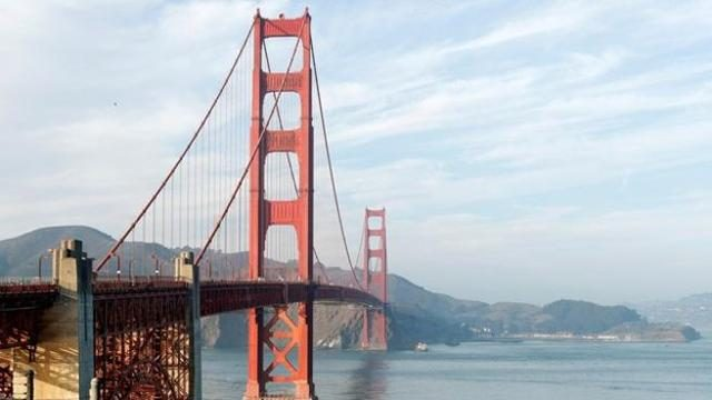 USA: un misterioso rumore sul Golden Gate Bridge di San Francisco. Il video