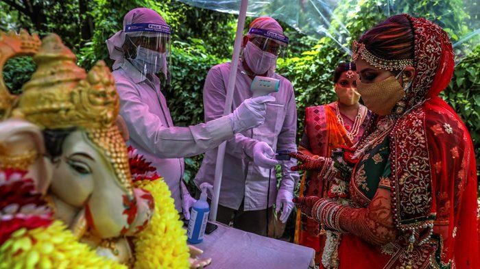 Coronavirus in India: muore uno sposo, 111 contagi tra gli invitati