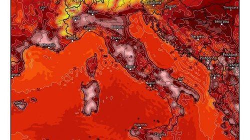Caldo record in Italia: da domani temperature in rialzo