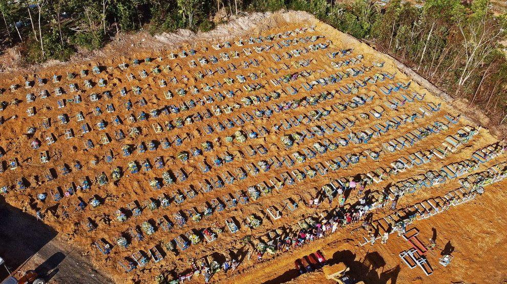 Coronavirus: quasi 90mila morti in Brasile. Nuovo record di decessi in 24 ore negli USA
