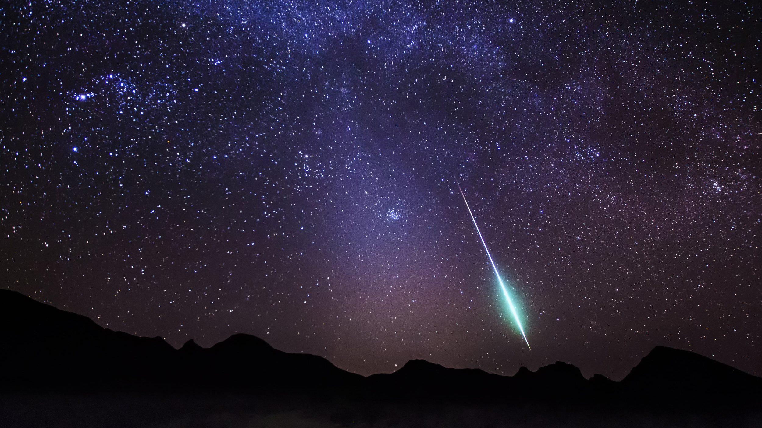 Spazio: in arrivo due sciami meteorici