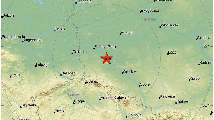 Terremoto in Polonia: scossa di 5 gradi avvertita anche in Repubblica Ceca
