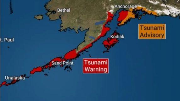 Terremoto in Alaska: scossa di 7.8 gradi nel Pacifico. Si teme tsunami