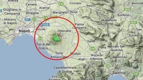 Terremoto Vesuvio: sequenza sismica in atto. Boato avvertito alle pendici del vulcano