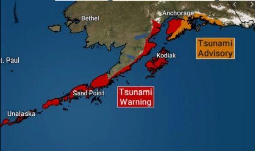 Terremoti: scossa 7.8 in Alaska, allerta tsunami