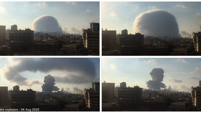 Esplosione di Beirut: perché ha prodotto una nuvola simile a una bomba nucleare?