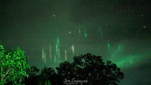 Filippine: 'pilastri di luce' appaiono nel cielo prima della forte scossa