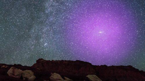 Spazio: il gigantesco alone di gas di Andromeda ripreso da Hubble