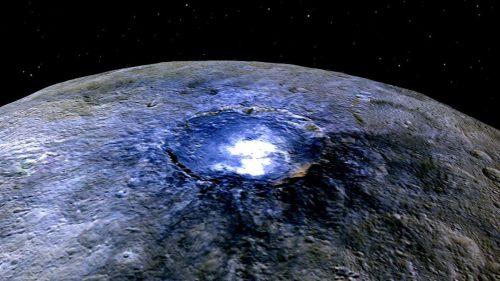 Cerere: un oceano di acqua e sale nelle profondità del pianeta nano