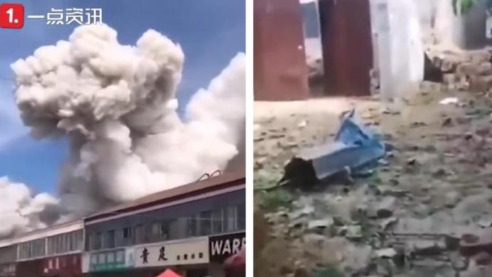 Cina: violenta esplosione nella provincia di Shandong. Due morti e feriti