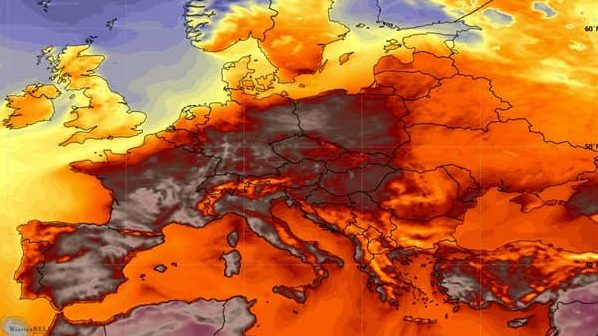 Caldo record in Italia: temperature percepita di oltre 50 gradi in Sardegna