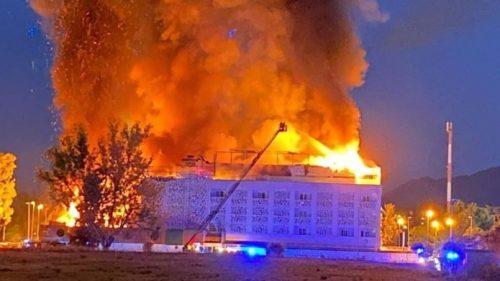 Spagna: hotel in fiamme a Marbella. Un turista morto e decine di intossicati
