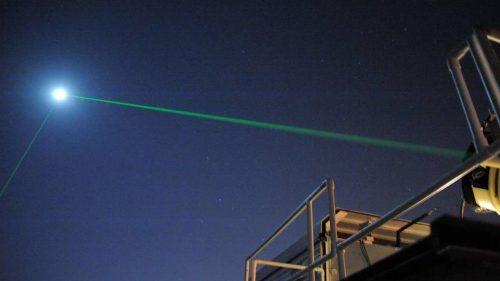 Spazio: la NASA riflette raggio laser dalla Luna