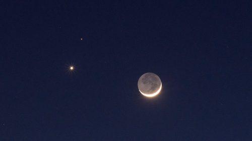 Congiunzione Marte Luna: stasera un nuovo spettacolo astronomico