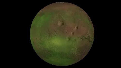 Marte: tre improvvisi bagliori illuminano l'atmosfera