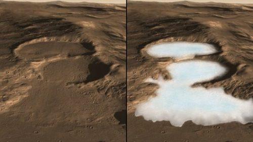 Spazio: su Marte pioggia e neve formavano laghi e fiumi