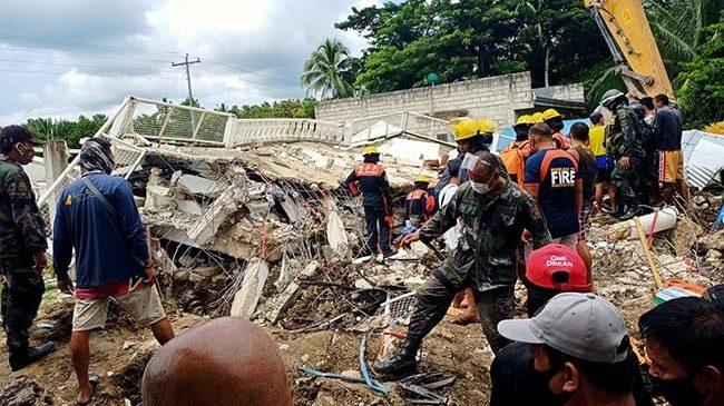 Terremoto Filippine: crolli a Cataingan e Palanas. Cresce l'attività di 4 vulcani