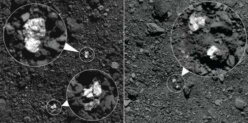 Spazio: individuate rocce di Vesta sull'asteroide Bennu. La scoperta di OSIRIS-REX