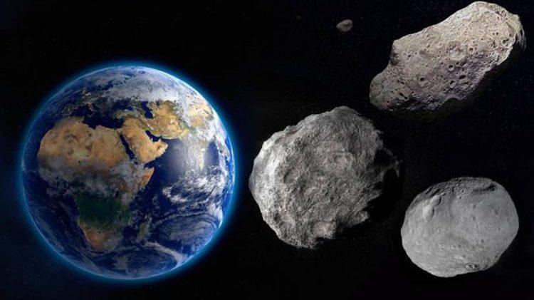 Spazio: tre asteroidi potenzialmente pericolosi sfioreranno la Terra