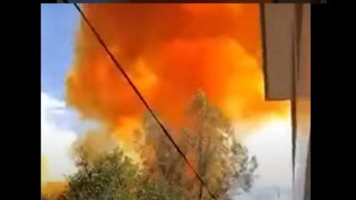 """Cina: uno stadio del razzo """"Lunga Marcia 4B"""" precipita a pochi metri da una scuola. Tragedia sfiorata"""