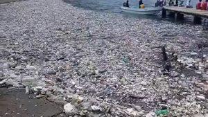 Si rompe barriera dei rifiuti in Guatemala. Impressionante ondata di rifiuti invade l'Honduras