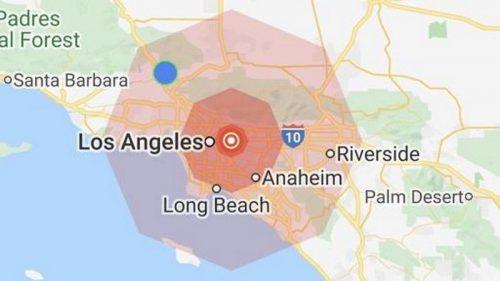 Terremoto a Los Angeles: migliaia di persone in strada