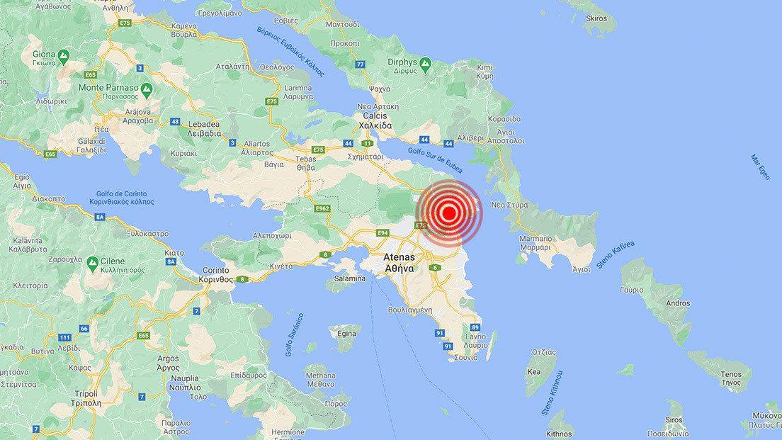 Terremoto Grecia: scossa ad Atene. Paura in città